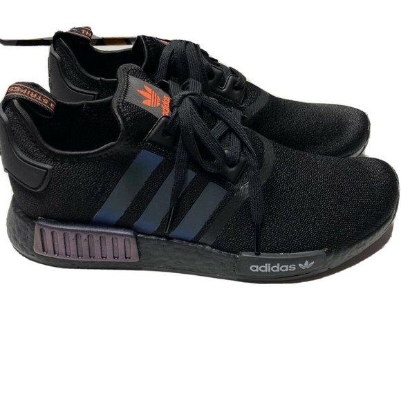 Adidas Nmd R Black Reflective Xeno Mens